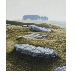 Arbor Low , Print from original oil paiting