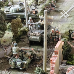 Detail from Barry Walker's  EB Diorama