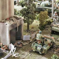 Another detail from Barry of his diorama